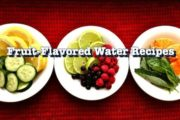 Flavored Water Recipes // Healthy and Easy Fruit Infused Water by...