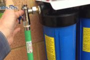 Whole House Triple Big Blue Water Filter Installed Video...