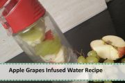 Apple Grapes Infused Water Recipe | Weight Loss Recipe by Healthy...