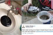 Black tap water: Texas city's residents turn on faucet and get da...