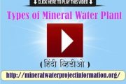 Types of Mineral Water Plant (video in Hindi)...