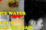 DIY Rice Water Rinse for Healthy Natural Hair ️Jah-nette...