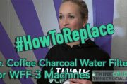 Replacing Your Mr. Coffee Charcoal Water Filters For WFF-3 Machin...