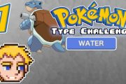 Pokemon LG Mono Type: Water [Part 1] - One Type Challenge...