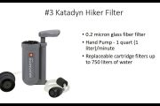 The 3 Best Backpacking Water Filters...