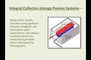 Types Of Solar Water Heating Systems...