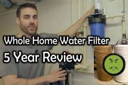 Review After 5 Years Pelican PC600 Whole House Water Filter Carbo...