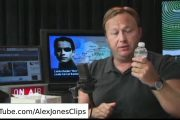 Alex Jones Says Tap Water Causes IQ Reduction of 20 Points...