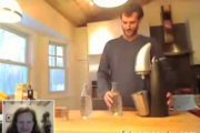 Carbonating your tap water at home...