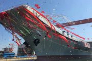 China's first domestically-built aircraft carrier Type 001A hits ...
