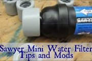 Sawyer Mini Water Filter - Tips And Modifications...