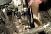 LS Type Vortec V8 Water Pump Replacement (part 1)...