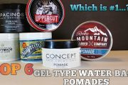 Top 6 Gel Type Water Base Pomades For Summer Review/ Pacinos,Hanz...