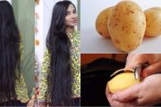 How to get Long, Soft, Smooth and Healthy Hair with Potato   Pota...