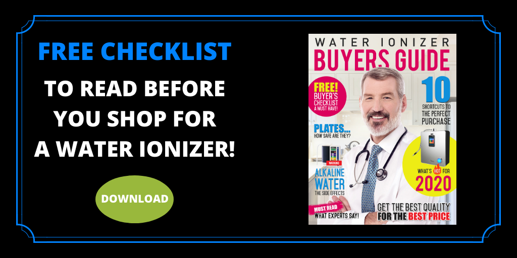 Water ionizer buyers guide AW CTA