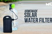 Homemade Solar water filter - Simple Life hack...