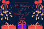 Body Ecology Holiday List of Healthy Gift Ideas...
