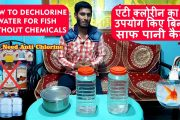 How to Purify Tap Water for fish | How to dechlorinate water for ...