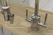 Installation Instructions for the filtadapt® Counter Top Water Fi...