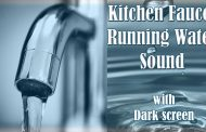 Running Tap Water Kitchen Faucet Sink Sound White Noise 6 Hours L...