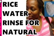 How to Use RICE WATER for NATURAL HAIR GROWTH and HEALTHY SKIN #N...