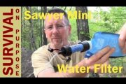 Sawyer Mini Water Filter Review...