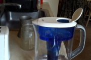 Second review of pur water filter pitcher after filter soak...