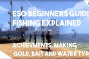 ESO Beginner Guide - Fishing Explained. Achievements, Perfect Roe...