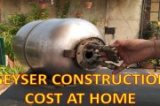 How to Construct/Build of Storage Type Water Heater/Geyser at Hom...