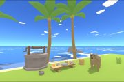 Content update: Added animal prototype, new tree type, water well...