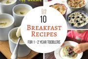 10 Breakfast Recipes ( for 1 - 2 year baby/toddler ) - Easy, Heal...