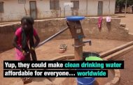 New water filter technology aims for clean water worldwide...
